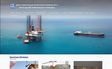 qcon.com.qa screenshot