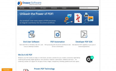 qoppa.com screenshot