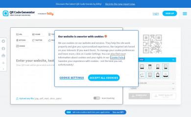 qr-code-generator.com screenshot