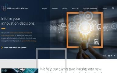 rtiinnovationadvisors.org screenshot