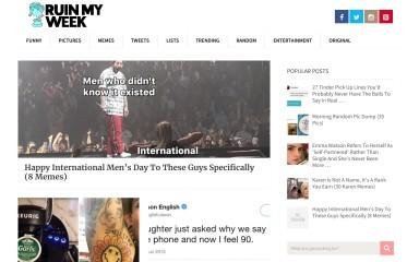 ruinmyweek.com screenshot