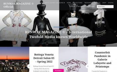 http://runwaymagazines.com screenshot
