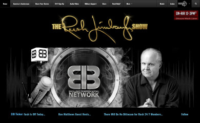 rushlimbaugh.com screenshot