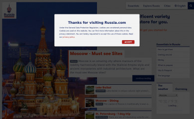 russia.com screenshot