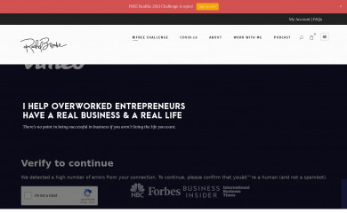 rachelbrenke.com screenshot