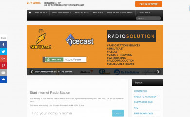 radiosolution.info screenshot