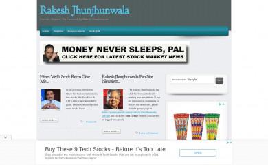 http://rakesh-jhunjhunwala.in screenshot