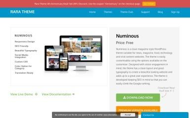 Numinous screenshot