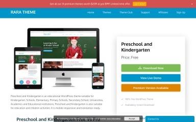 Preschool and Kindergarten screenshot