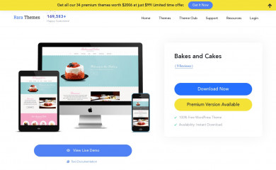 Bakes And Cakes screenshot