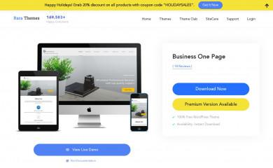 https://rarathemes.com/wordpress-themes/business-one-page/ screenshot