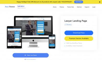 https://rarathemes.com/wordpress-themes/lawyer-landing-page/ screenshot