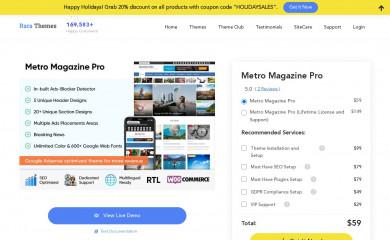 Metro Magazine Pro screenshot