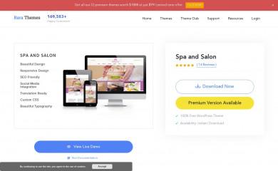 Spa and Salon screenshot