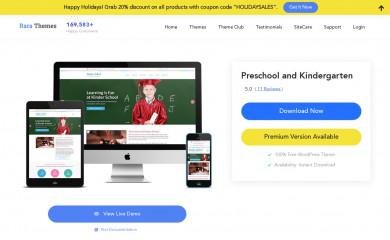 https://rarathemes.com/wordpress-themes/preschool-and-kindergarten/ screenshot