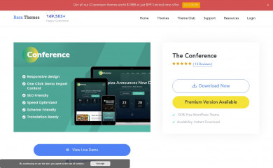 The Conference screenshot