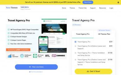 Travel Agency Pro screenshot