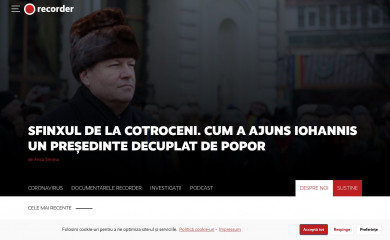 http://recorder.ro screenshot