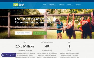 recdesk.com screenshot