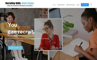 recruitingskillsmadesimple.com screenshot