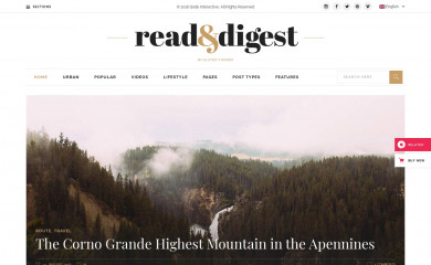 http://readanddigest.elated-themes.com/ screenshot