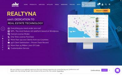 realtyna.com screenshot