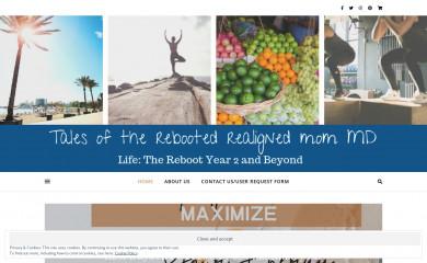 rebootedmommd.com screenshot