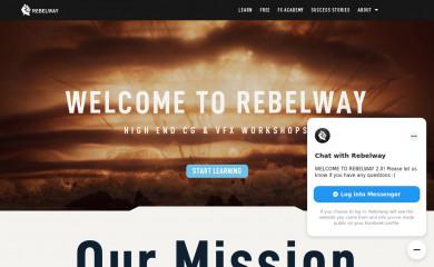 rebelway.net screenshot