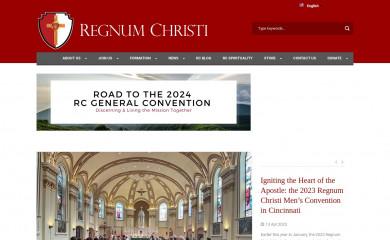 regnumchristi.org screenshot