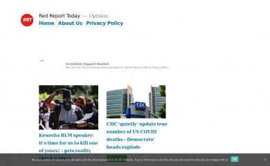 redreporttoday.com screenshot