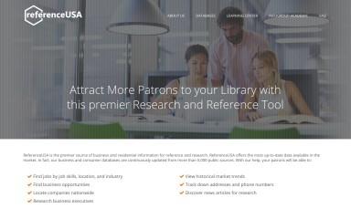 referenceusa.com screenshot