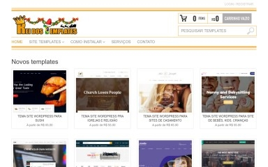 reidostemplates.com.br screenshot