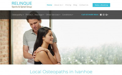 relinque.com.au screenshot