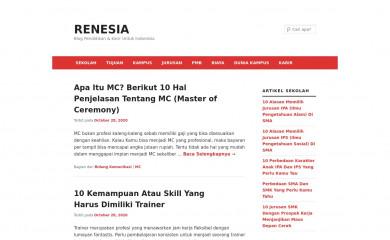 renesia.com screenshot