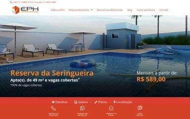 reservadaseringueira.com.br screenshot