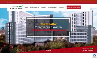 residencialchapultepec.mx screenshot