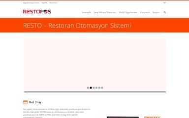 restopos.com.tr screenshot