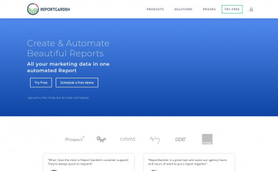 reportgarden.com screenshot