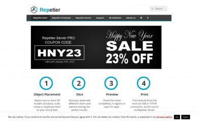 repetier.com screenshot