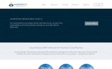 revolutionehr.com screenshot