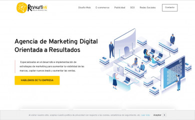 http://revolutionmediamarketing.com screenshot