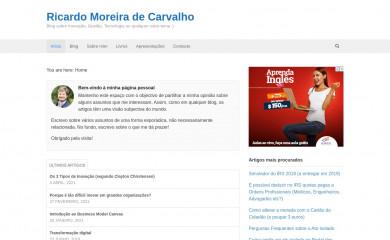 ricardomcarvalho.pt screenshot
