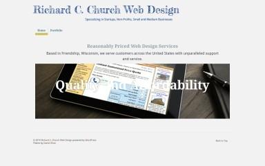 richardchurch.com screenshot