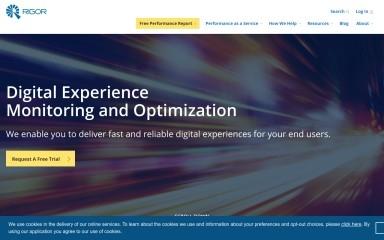 http://rigor.com screenshot