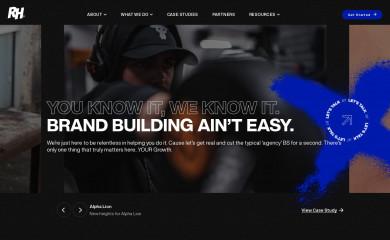 righthookdigital.com screenshot