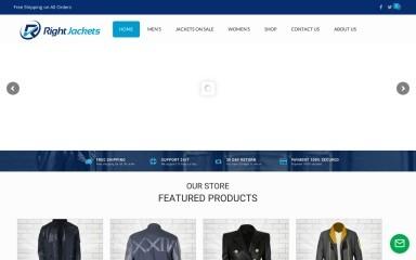 rightjackets.com screenshot