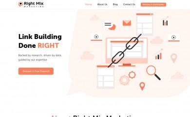 rightmixmarketing.com screenshot