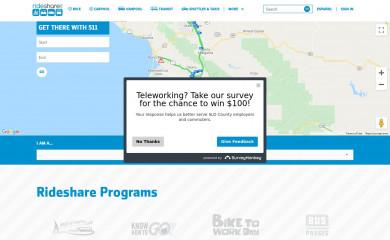 rideshare.org screenshot