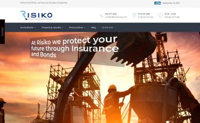 risikocorp.com screenshot