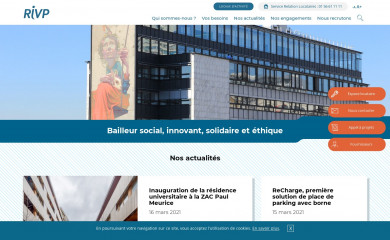 rivp.fr screenshot
